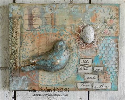 hanging canvas panels mixedmedia diy craft julie prichard mixed media canvas art collage mixed media pinterest