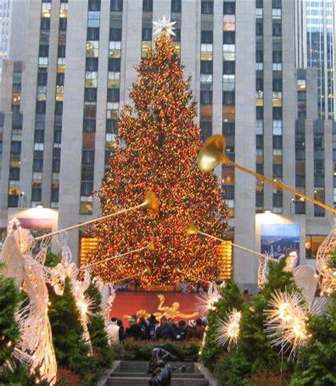 christmas trees jersey city nyc rockefeller center tree lighting ceremony new york city new yorkled magazine