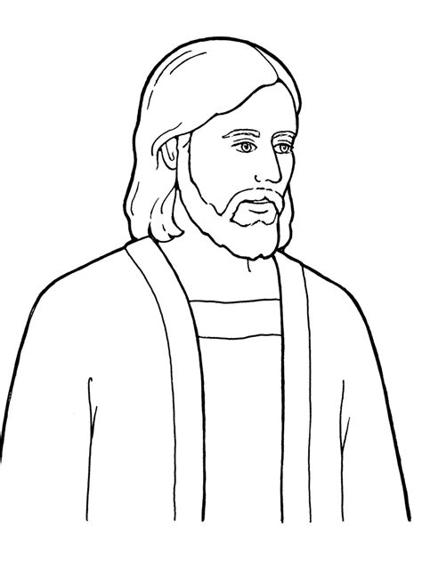 Easy To Draw Jesus by Jesus The Of God