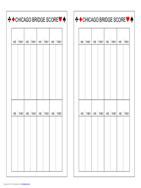 chicago bridge score cards templates more graph papers 63 free templates in pdf word excel