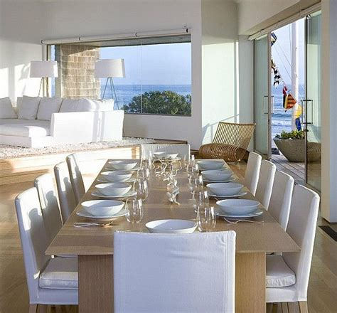 Coastal Interiors Dining And Living 269 Best Images About D I N I N G R O O M On Pinterest Chairs Dining Rooms And Oak Table
