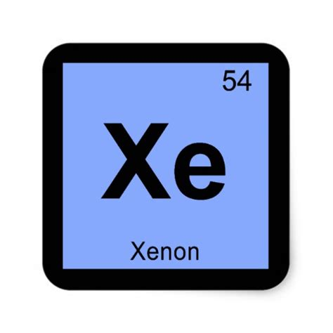 Xenon Atomic Symbol Xenon 187 The Essentials Webelements