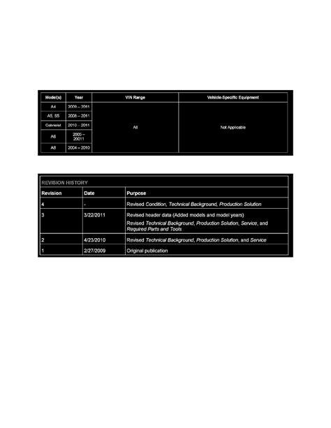 audi service bulletins audi workshop manuals gt a8 quattro sedan v8 4 2l bfm