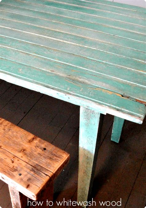how to color wash wood furniture how to whitewash wood