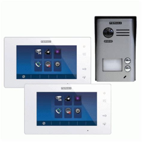 fermax 2 way intercom kit with 7 inch colour monitor