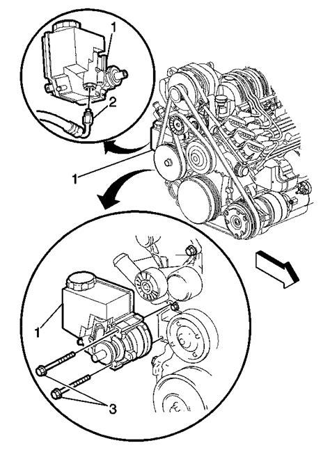 1999 Buick LeSabre, 3.8 L Replacing water pump How do I