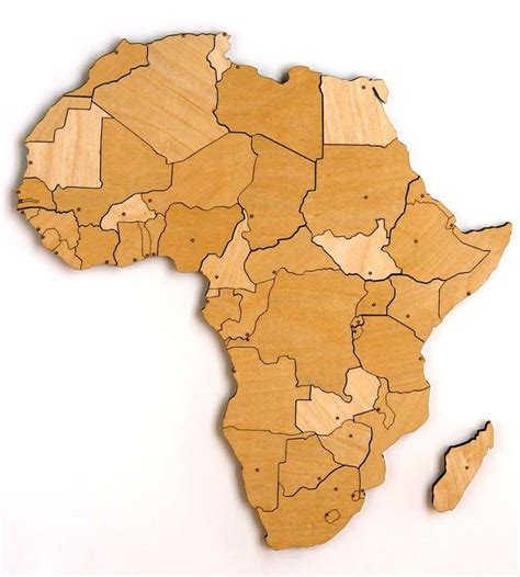 africa map puzzle africa magnetic wood map puzzle
