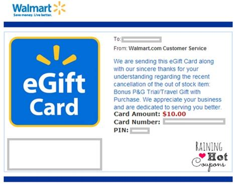Walmart Gift Card Check - did you get a free 10 walmart gift card check your emails