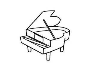 baby grand piano template baby grand piano coloring pages