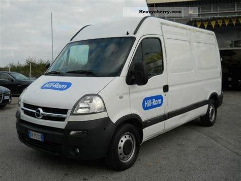opel movano 2008 opel opel movano 2 5cdti 2008 other vans trucks up to 7