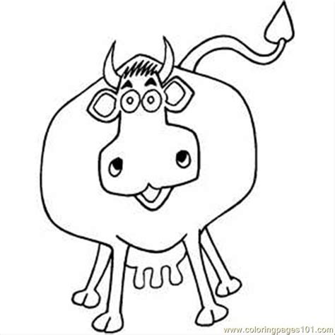 coloring page cow head easy cow head coloring coloring pages