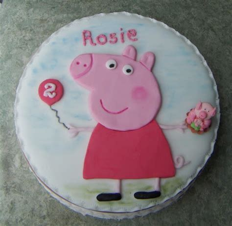 peppa pig cake template free peppa pig stencil cake ideas and designs