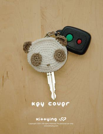 Pattern Crochet Key Cover | panda key cover crochet pattern instant pdf download