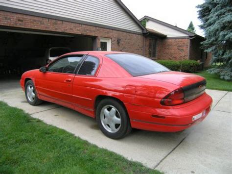 1996 chevrolet monte carlo z34 sell used 1996 chevrolet monte carlo z34 coupe 3 4 liter