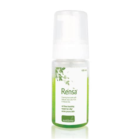 Acnes Facewash rensa foaming anti acne wash aurelderma