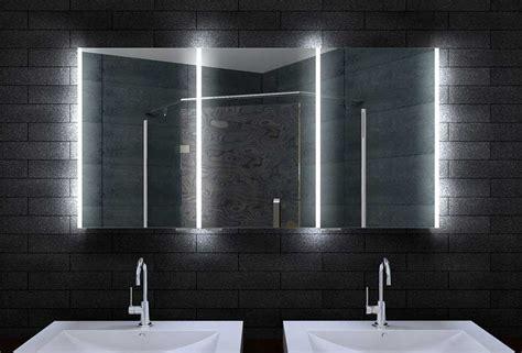 badezimmer spiegelschrank mit led beleuchtung bad spiegelschrank mit led beleuchtung drei t 252 ren