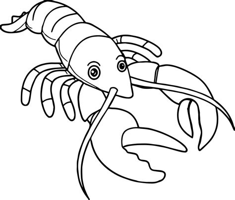 lob star coloring page lobster coloring page wecoloringpage