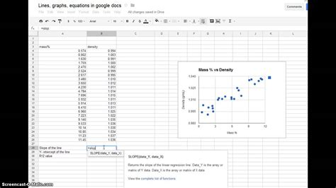 using microsoft excel to make a graph