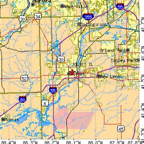 map of joliet il joliet illinois il population data races housing