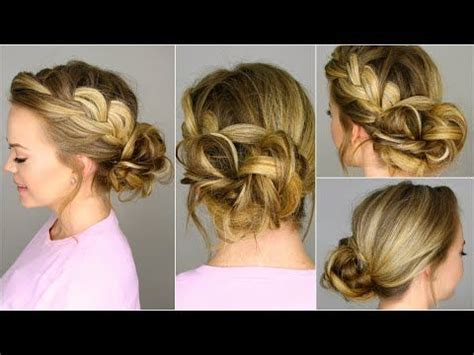 french braid bun on empire 17 best ideas about low side buns on pinterest side buns