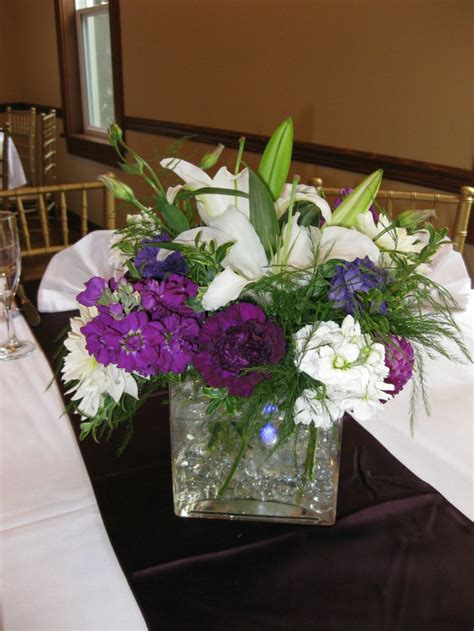 purple water centerpieces 24 best images about flowers centerpieces on