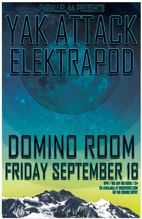 Domino Room Bend Oregon by Yak Attack Elektrapod The Domino Room Tickets The