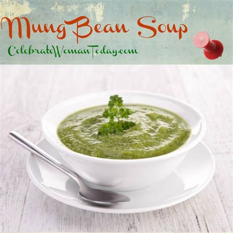 Detox With Mung Bean Soup by Cleansing Mung Bean Spinach Soup Recipe
