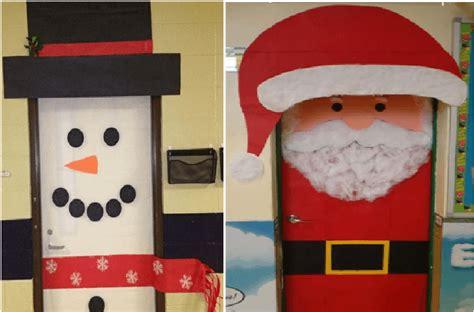 decorar puertas de navidad decoraci 243 n navide 241 a con reciclaje adornos centros de