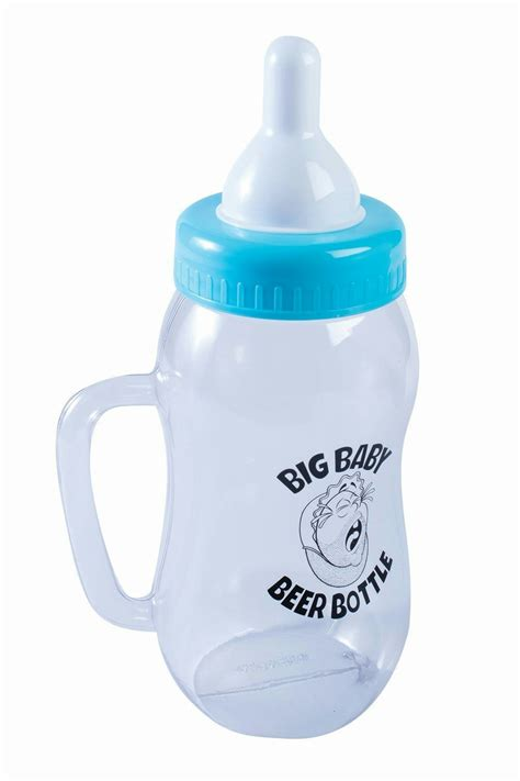 Blue Big Bottle 12 quot plastic big baby blue bottle novelty gift prop ebay