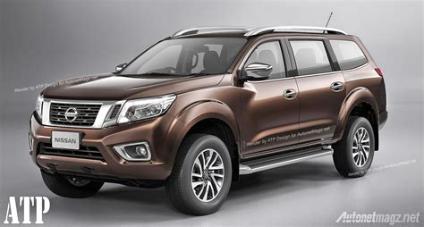 nissan pathfinder 2015 rendered nissan pathfinder 2015 based from the new navara