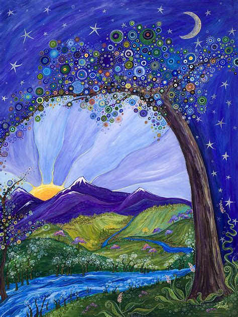 paint dream dreaming tree by tanielle childers