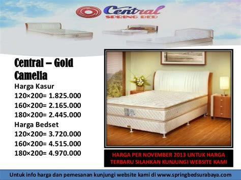 Bed Comforta Ukuran 160x200 central woodworks furniture