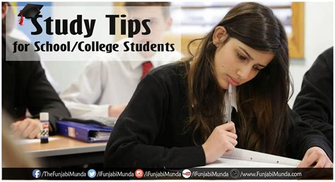 8 Tips For College Students by Study Tips For School College Students Funjabi Munda