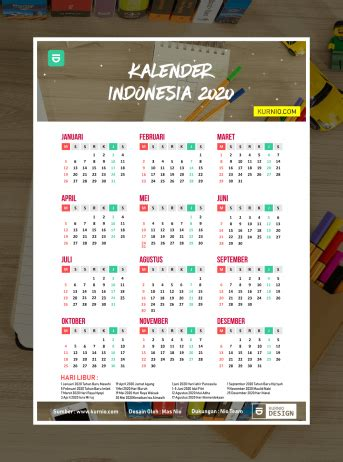 kalender  indonesia lengkap  jpg png hd kurnio desain