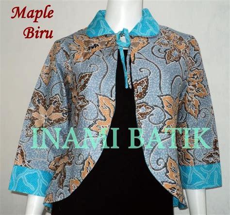 blazer batik panjang blazer batik wanita panjang modis blazer batik wanita