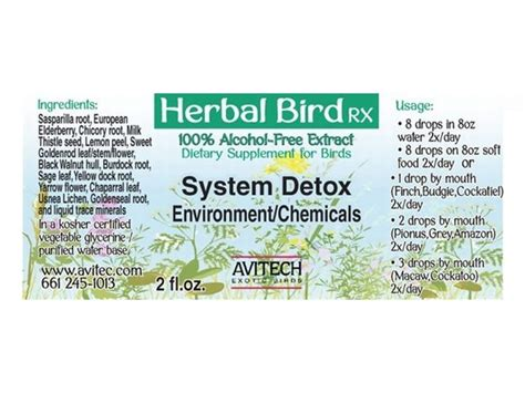 Detox Environmental Chemicals system detox for environment chemicals herbal extract