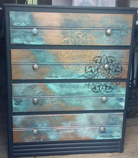 patinas metals and furniture on