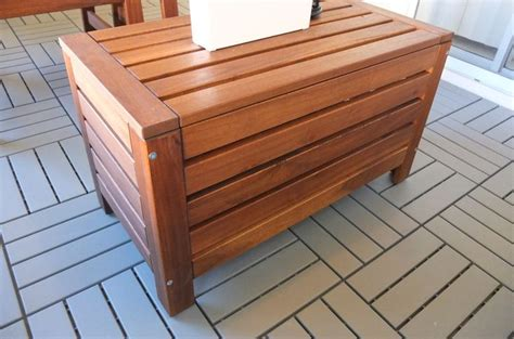 applaro storage bench applaro storage bench outdoor brown brown stained zoomly