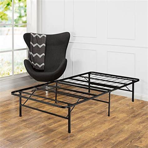 quiet bed frame zinus 14 inch smartbase mattress foundation platform bed