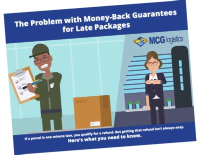 money isn t the problem you are ebook late package recovery video mcg logistics