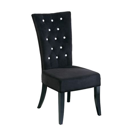 Dining Room Chairs Black by Black High Back Dining Chairs Chair Pads Cushions