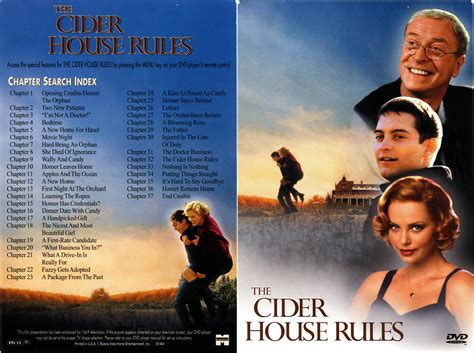cider house rules music the cider house rules 1999 r1 cover label dvd covers and labels