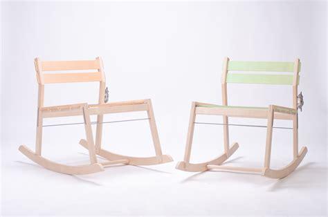 designboom rocking chair tom chung cleat knockdown rocking chair