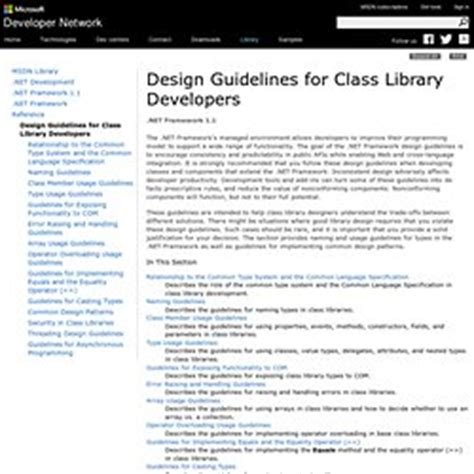 design criteria for library coding pearltrees