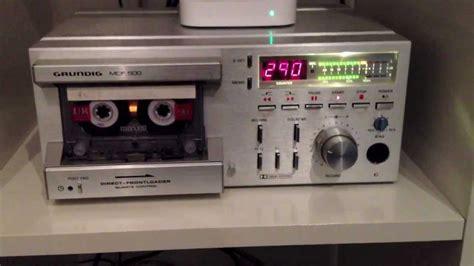 cassette deck grundig mcf 500 cassette deck track seeking