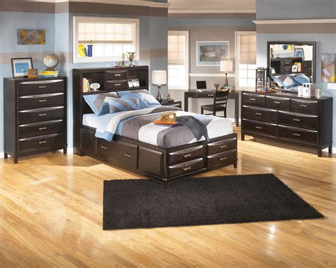 kira storage bed furniture kira youth storage bedroom set b473 kids