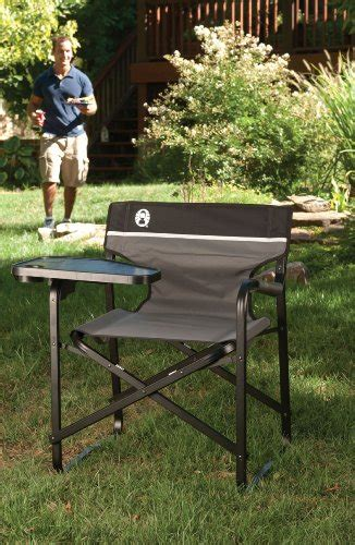 coleman portable deck chair with table coleman portable deck chair with swivel table the