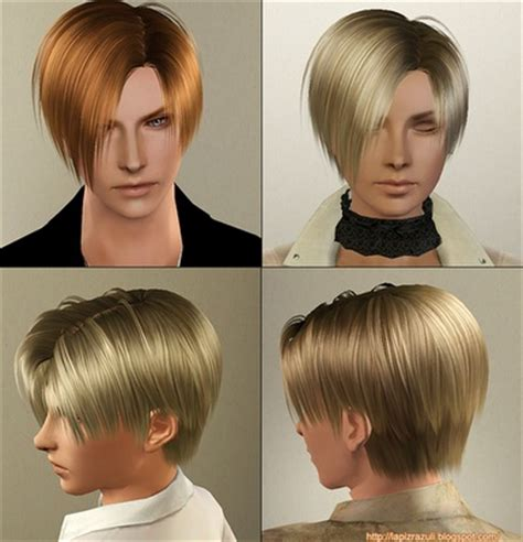 hair works download leon s hair from resident evil for sims 3 hair works for