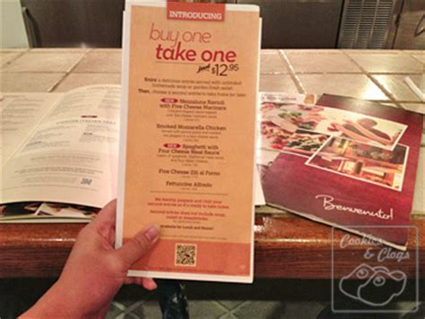 Does Olive Garden Do Take Out olive garden review w buy one take one promotion gift card giveaway