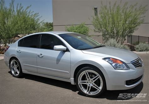 tires for nissan altima 2007 2007 nissan altima with 20 quot in wheels wheel specialists